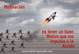 Motivación para impulsar a la acción by David Quesada